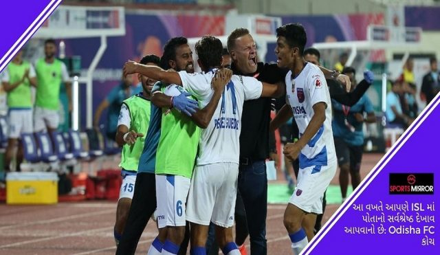 Odisha FC Coach Stuart Baxter
