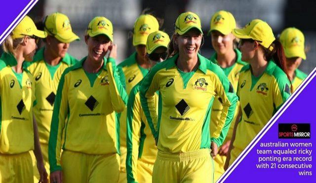 Australia Women Cricket