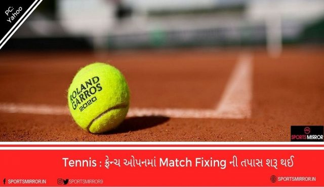 Match Fixing in French Open